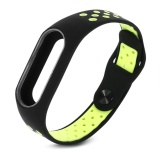 Beli Vishine Mall Double Warna Ventilasi Gelang Tali Band Gelang Pengganti Untuk Mi Band 2 Smart Watch Intl Kredit Tiongkok
