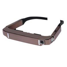 VISION-800 Smart Android WIFI Kacamata 80 Inch Wide Wide Screen Video Glasses Portable 3D Kacamata Pribadi Theater dengan 5MP HD Kamera Bluetooth 4.0 Cerdas Media Player (Rose Gold)