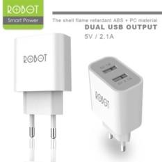 Vivan Adapter Robot RT-C04 Dual Port USB - putih