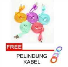 Miliki Segera Vivan Data Cable Flat For Iphone5 6 100Cm Csi100 Original Vivan Merah Gratis Pelindung Cable