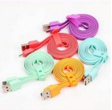 Toko Vivan Data Cable Flat Micro Usb For Android 100Cm 5Pcs Gratis 5 Pelindung Cable Lengkap Indonesia