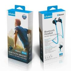 Spesifikasi Vivan Headset Bluetooth Bt520 V4 1 Wireless Hi Fi Sport Blue Dan Harganya