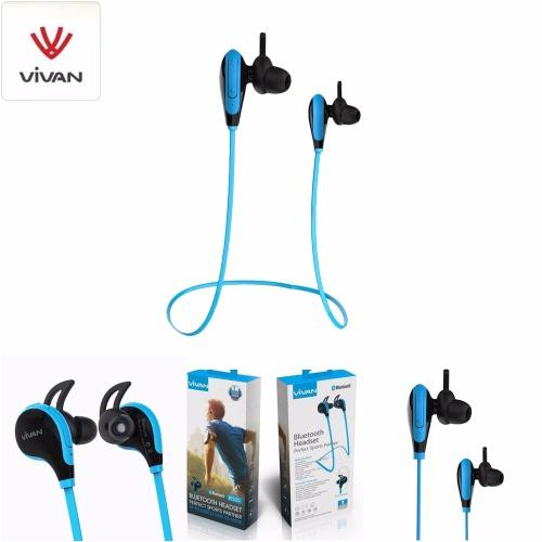 Cara Beli Vivan Headset Bluetooth Stereo Bt520 V4 1 Wireless Hi Fi Sport Headset