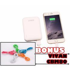 Ulasan Lengkap Tentang Vivan Powerbank Rt7200 6600Mah Real Capacity Gratis Vivancbm80 Micro Usb Kabel Data