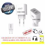 Spesifikasi Vivan Robot Fast Adaptor Charger 2 1A Rt C04 Free Kabel Data Otg Micro Usb Terbaru