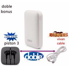Beli Vivan Robot Powerbank Rt7200 2 Usb Ports Original Xiaomi Handsfree Piston 3 Vivan Cable Pake Kartu Kredit