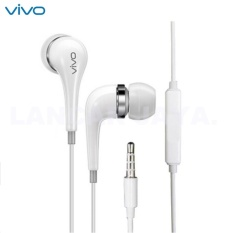 Rp 61.750. Vivo Earphones Handsfree Headset XE600i Compotible For All Android, PutihIDR61750