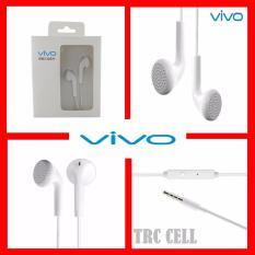 VIVO Handsfree / Earphone XE100 Original Deep Bass Sound System In-Ear Earphone With Mic - Putih