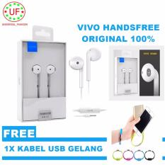 Vivo Headset Handfree Vivo XE680 for Smartphone Android And Iphone + Kabel USB Gelang