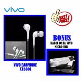 Kualitas Vivo Original Handsfree Xe600I Headset Vivo Original Earphone Vivo Handsfree Vivo Stereo Input 3 5Mm Jack Free Bonus Cable Vivo Original Putih Vivo