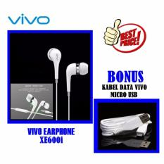 Spesifikasi Vivo Original Handsfree Xe600I Headset Vivo Original Earphone Vivo Handsfree Vivo Stereo Input 3 5Mm Jack Free Bonus Cable Vivo Original Putih Lengkap Dengan Harga