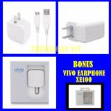Beli Vivo Travel Charger Adapter 2A Micro Usb Original Bonus Handsfree Vivo Xe100 Original Murah