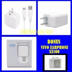 Review Terbaik Vivo Travel Charger Adapter 2A Micro Usb Original Bonus Handsfree Vivo Xe100 Original