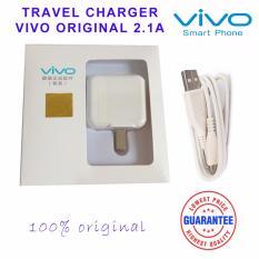 Harga Hemat Vivo Travel Charger Adapter 2A With Cable Original Putih