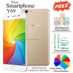 Spesifikasi Vivo Y69 Ram 3Gb Rom 32Gb Crown Gold Murah Berkualitas