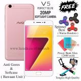 Jual Vivo V5 Perfect Selfie Ram 4Gb Rom 32Gb Camera Depan 20 Mp Rose Gold Murah