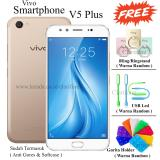 Spesifikasi Vivo V5 Plus Dual Front Camera Ram 4Gb Rom 64Gb Crown Gold Lengkap