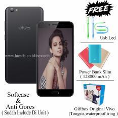 Vivo V5 Plus - Dual Front Camera - Ram 4GB - Rom 64GB - Free 3 item - matte black