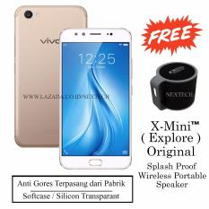 Spesifikasi Vivo V5 Plus Dual Front Camera Support Bokeh Ram 4Gb Rom 64Gb Crown Gold Murah Berkualitas
