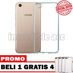 Vivo V5 Plus / Vivo Y66 Softcase Shining Chrome List Chrome Beli 1 Gratis 4 Random Warna [BUY 1 GET 4]