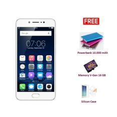 Harga Vivo V5S Gold 4 64Gb Bonus 3 Item Lengkap