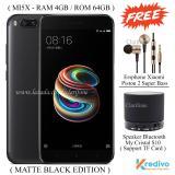 Harga Hemat Xiaomi Mi5X Ram 4Gb Rom 64Gb 4G Fingerprint Matte Black