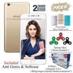 Spesifikasi Vivo V5S Perfect Selfie Ram 4Gb Rom 64Gb Kamera Depan 20Mp Crown Gold Dan Harganya