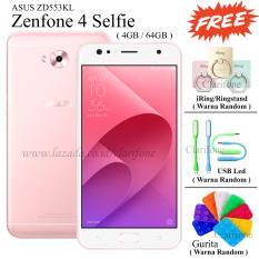 Beli Asus Zenfone 4 Selfie Zd553Kl 5 5 4G Lte 4Gb 64Gb Rose Gold Nyicil