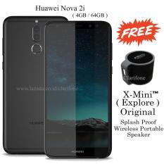 Beli Huawei Nova 2I Ram 4Gb Rom 64Gb Four Camera Garansi Resmi Matte Black Lengkap