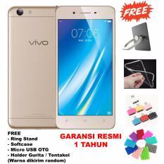Beli Barang Vivo Y53 16 Gb 4G Lte Free 4 Accessories Gold Online