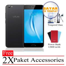 Vivo Y53 Ram 2GB/16GB (Free 2x Paket Accessories) Black Smartphone