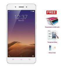 Spesifikasi Vivo Y55S 16 Gb Gold Free 3 Item Accessories Terbaik