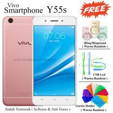 Vivo Y55s - Camera Belakang 13MP - Layar 5.2 inch - 16GB - Rose Gold