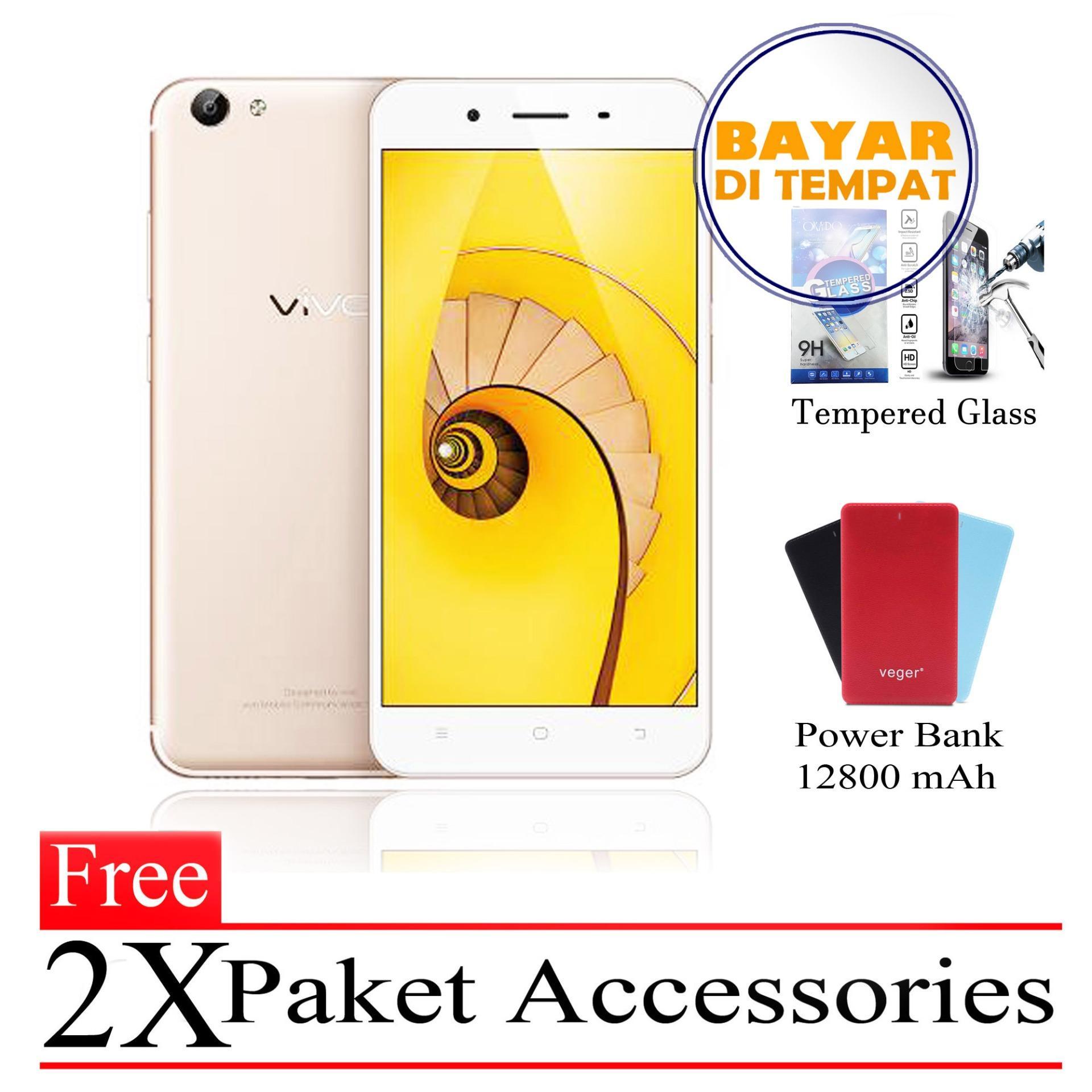 Vivo Y65 Ram 3GB 32GB Free 2x Paket Accessories