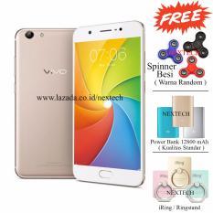 Harga Vivo Y69 16Mp Selfie Camera Ram 3Gb Rom 32Gb White Gold Paling Murah