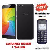 Harga Vivo Y69 32Gb Ram 3Gb 16Mp Garansi Resmi Black Free Handphone Fitur Murah