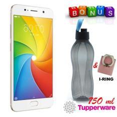 Vivo Y69 3/32GB - Gold Bonus Botol Minum Original Tupperware 750 Mililiter Dan I-Ring