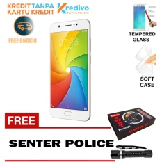 Harga Vivo Y69 Garansi Resmi 3 32 Gb Gold Free Lampu Senter Cash Kredit Original