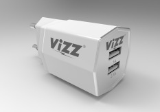Review Toko Vizz Adapter Charger Vz28 Dual Port Free Cable Data Micro Putih