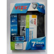 Vizz Baterai Batt Batre Battery Double Power Vizz Advan I4D dan S4Z 1500 Mah