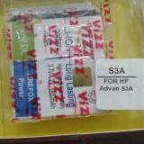 Vizz Baterai Batt Batre Battery Double Power Vizz Advan S3A Original
