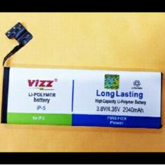 Toko Vizz Baterai Batt Batre Battery Double Power Vizz Apple Iphone 5 Dan 5G Lengkap