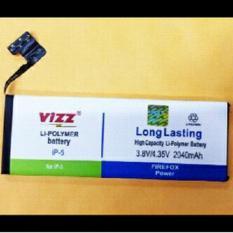 Jual Vizz Baterai Batt Batre Battery Double Power Vizz Apple Iphone 5 Dan 5G Vizz Di Dki Jakarta