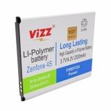 Penawaran Istimewa Vizz Baterai Batt Batre Battery Double Power Vizz Asus Zenfone 4S 4 5 T00Q A450Cg 2300 Mah Terbaru