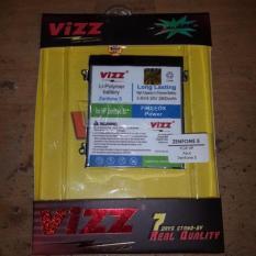Vizz Baterai Batt Batre Battery Double Power Vizz Asus Zenfone 5 T00F T00J A500CG 2500 Mah