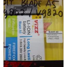 Review Vizz Baterai Batt Batre Battery Double Power Vizz Blade A5 Untuk Handphone Hp Bolt Powerphone V9802 Dan V9820 2800 Mah Dki Jakarta