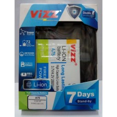 Katalog Vizz Baterai Batt Batre Battery Double Power Vizz Cross Evercross A75 A75A A75G 2800 Mah Terbaru
