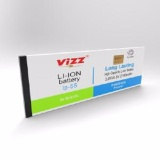 Beli Vizz Baterai Batt Batre Battery Double Power Vizz Iphone 5S 2160 Mah Cicil