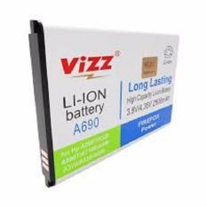 Vizz Baterai Batt Batre Battery Double Power Vizz Lenovo A690 A298T A520 A698T A710E A685 A370 A530 A660