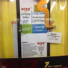 Vizz Baterai Batt Batre Battery Double Power Vizz Lenovo BL207 Untuk K900 K-900 3050 Mah